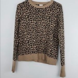 Leopard Print Eway Sweater, Worn once or twice ...